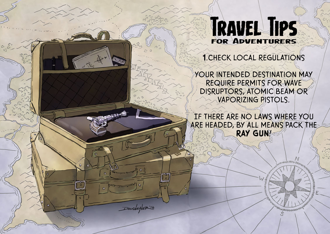 Travel Tips for Adventurers #1