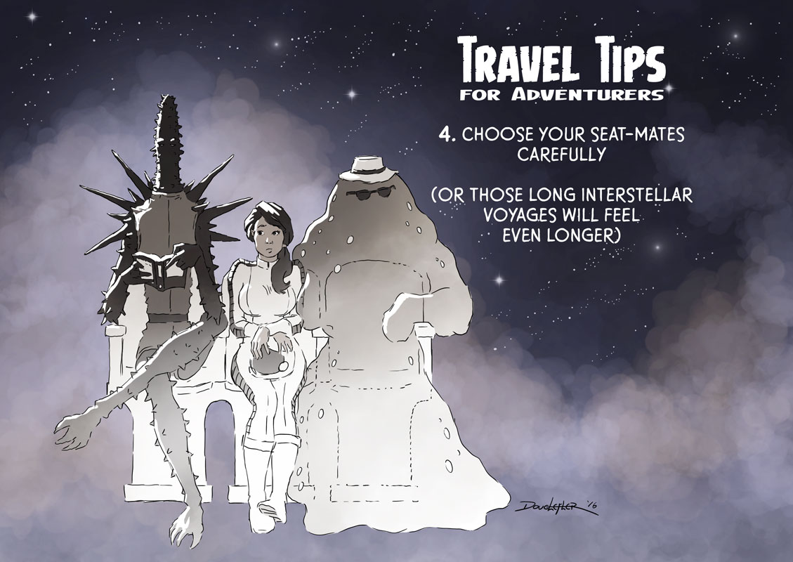 space alien travelers