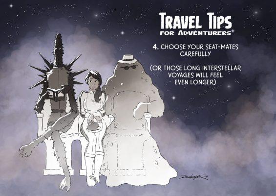 space alien travelers